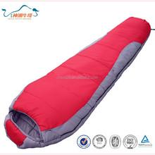 warm arctic eider down mummy sleeping bag