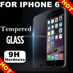 Anit-broken anti-scratch for iphone 6 tempered glass screen protectors original unlocked, for iphone 6 plus glass protector