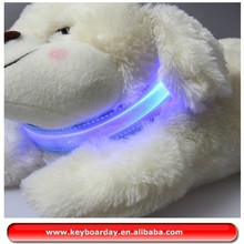 Waterproof Led dog collas for cute pets, anmials flashing dog collar light up in dark night