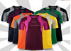 Promotional 100% Polyester Men's Plain Quick Dry Mesh Sports Short sleeve tshirt Factory Supplier