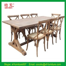 Luxury Dining Sets/European Style Restaurant Furniture/Antique Style Dining Sets(RF1054)