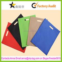 2015 Colorful professional custom print pp woven plaid bag