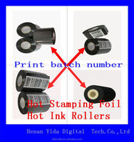 Supply manual hot foil used for stamping machine size for FC3 25mm*122m