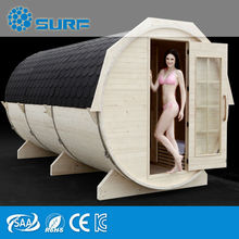 Large 10 Peple Outdoor Finland Barrel Seks Steam Sauna Room