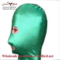 mask hood latex mask hood catsuit sexy latex hood