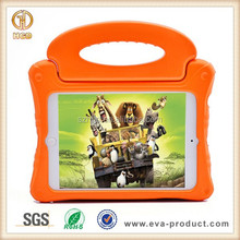 Kids anti-shock case for ipad mini, Thick foam shock proof safe grip handle case cover for ipad tablet mini case