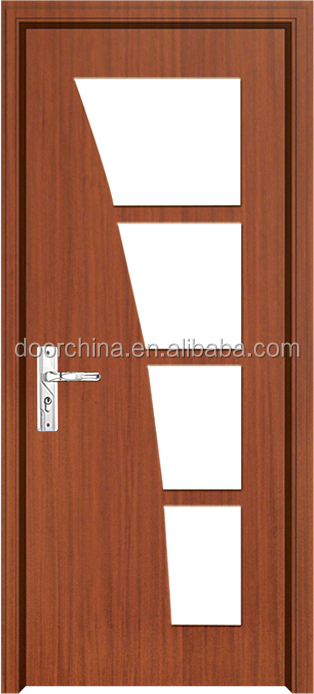 New Design Clear Glass Single Wooden Door Frame Buy Single Wooden