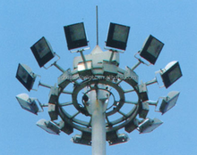 Price high mast light hot dip galvanzied skill for street airport