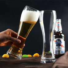 drinking beer glass, glass beer cup for promotion