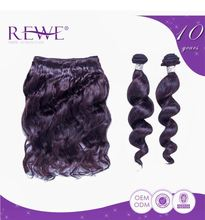 Real Human Hair Micro 22 Inch Human Braiding Hair Weft Extensions