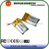 330819 Smart lipo battery 3.7v 50mah for bluetooth watch