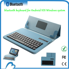 Tablet Leather case bluetooth keyboard for asus