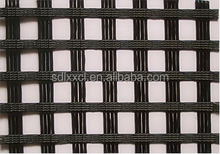 WARP KNITTED POLYESTER BIAXIAL WOVEN GEOGRID 400/400 KN/M
