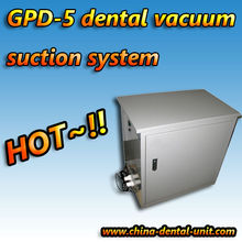 GPD-6 dental clinic vacuum suction system for one or two dental chairs