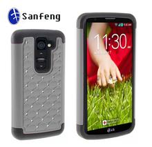 Cheap mobile phone cover for LG optimus G2 mini plastic hard back case
