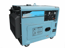 High quality small portable silent diesel generator rated power 7 kw 50hz