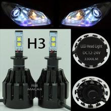 MACAR Hot Sale high quality super bright Car Xenon H3 6V 15W Halogen Bulb 4000Lumen