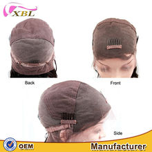 Latest design 100% human virgin sexy lady hair long lasting high quality factory direct sale Spiral curl lace front wig