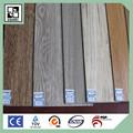 La espalda seca de vinilo del pvc suelo/sueltas laicos de vinilo tablón/bricolaje suelo de vinilo/6*36