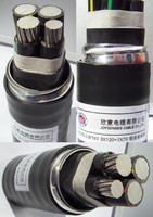 XLPE Insulated Low Voltage Aluminum Power Cable