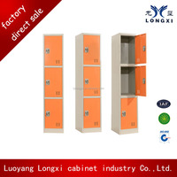 Small metal clothes locker, metal bench locker