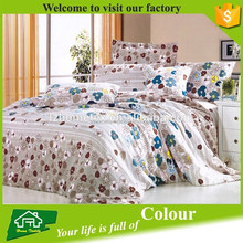 bed in a bag 200TC cotton fabric bed sheet