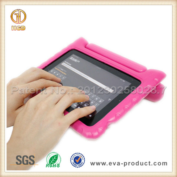 Fall Resistant Kid Proof EVA Stand Foam Case for Tablet 7