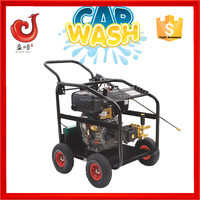 250bar/3600psi 186FE diesel vessel cleaning machine, water jet car wash