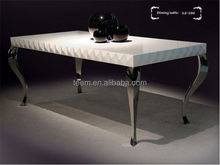 LS-208 furniture parts neoclassical style dining table replica furniture