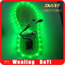 Color change USB led string light shoes