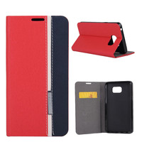 Stand Case For Samsung Note 5 Colorant Match Jean Leather Cover