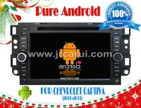 Android 4.2 car audio dvd gps system with Capacitive touch screen for CHEVROLET CAPTIVA(2006-2011), 3G ,WIFI ,support OBD