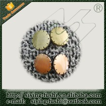 flower shaped women coat button