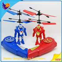 Newest rc toy helicopter Flying Robort.HY-835 rechargeable remote control toy helicopter