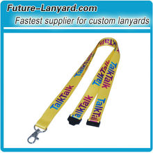 polyester printed breakaway neck strap