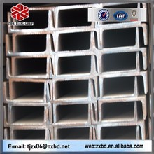 Prime standard mild U shaped steel channel sizes