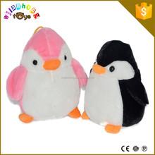 Soft Polar Stuffed Animal ICTI SEDEX Plush Pink Penguin