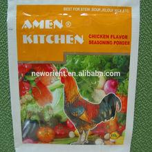 sabor a pollo de caldo de condimento en polvo