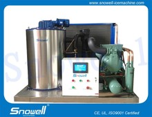 Snowell 4TPD Industrial Small Scale/Flake Ice Making Machines For Bakery Processing