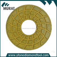 7 Inch Diamond Resin Floor Polishing Pads for Concrete Surface