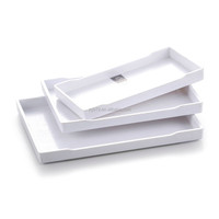 Factory Wholesale Rectangle Melamine Serving Tray