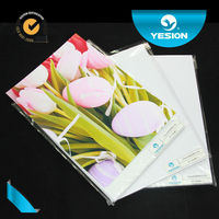 China manufacturer cheapest A3/A4 size inkjet matte photo paper/cast coated matte photo paper
