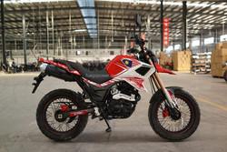 Best Engine Motorcycle, Super Power 250cc Dirt Bike, LED Lights 4 Stroke Motorcycle