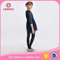 Printed style children pantyhose nylon girls in tights China manufacturer