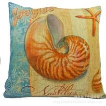 Sea breeze river snail exotic cushion, softs fashion pillow or cushion , art cushion decorative youe home