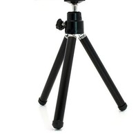 aluminium alloy Mini Tripod Stand black Adjustable For Camera Phone Video Projector Floor Stand Foot Lightweight
