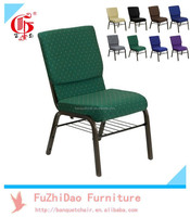 Hot sell item Stacking Metal Church Chair Used FD-261