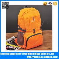New products 2015 bag travel wholesale foldable backpacks bag nylon cheap men's stylish backpack bag