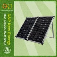 GP 160W Mono Foldable solar panel in high module eficiency for sanyo solar