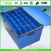 4*8 pp hollow sheet/coroplastic sheet for making box
